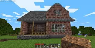 Small Picture Cozy 2 Story Brick House Minecraft House Design
