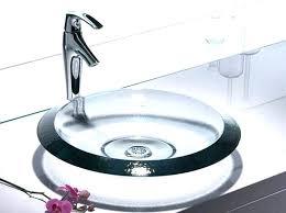 glass bathroom sinks uk and vanities sink countertops bowl white vessel home improvement cool un