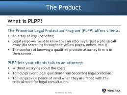Primerica Presentation Primerica Legal Protection Program Ppt Download