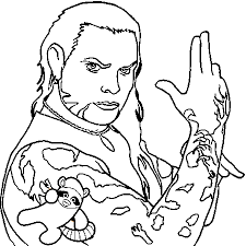 Hardy Boys Coloring Pages Coloriage Jeff Hardy Love Jeff