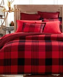 red and black buffalo check bedding picture of flannel sham buffalo plaid pillowcases plaid red and black checd bedding pics