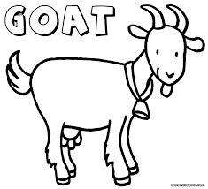 Small Picture Goat coloring pages Coloring pages to download and print