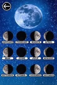 Sleek 4 stage blank lunar calendar. Moon Phase Calendar 2021 Free For Android Apk Download