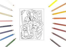 For a boyfriend, the goal is to send him a care package that will melt his heart. Gilmore Girls Rory Lorelei Emily Richard Coloring Pages Activity Pack Luke Sookie Signet Sealed Store