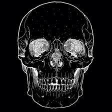 Skull Dark Art GIF