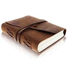 leather journal writing notebook antique handmade leather bound daily notepad for men women
