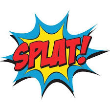 Image result for splat symbol