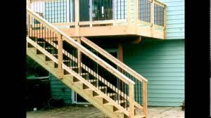 Outdoor Stair Handrail Design