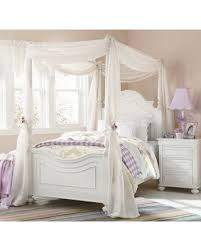 LC Kids Charlotte Canopy Bed Size: Full from Wayfair | BHG.com Shop