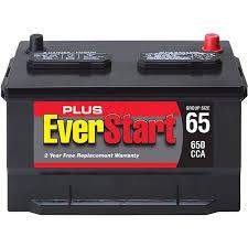 Everstart Plus Lead Acid Automotive Battery Group 65