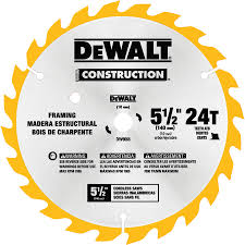 5 1 2 circular saw blade. dewalt construction 5-1/2-in 24-tooth carbide circular saw blade 5 1 2 v