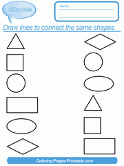 Check spelling or type a new query. Free Printable Shapes Worksheets For Kindergarten Coloring Pages Printable Com