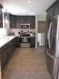Large Floor Tiles For Kitchen Small Kitchen With Large Floor Tile Home Decor Interior And Exterior