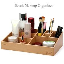 wooden makeup organizer high quality beech storage box wooden tabletop makeup organizer wooden makeup organizer uk