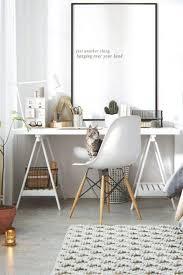 scandinavian home office. scandinavian white home office ideas