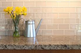 Country Cottage 3x6 Glass Subway Tiles - Rocky Point Tile traditional