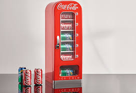 Coke Vending Machine Refund Enchanting CocaCola Vending Fridge Sharper Image