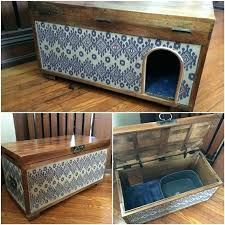 cabinet cat litter box f