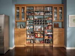 Oak Kitchen Pantry Cabinet Pantry Kitchen Cabinets Kitchen Charming Hickory Kitchen Cabinets