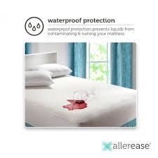 zippered mattress protector. AllerEase Maximum Allergy And Bed Bug Protection Zippered Mattress Protector Zippered Mattress Protector W