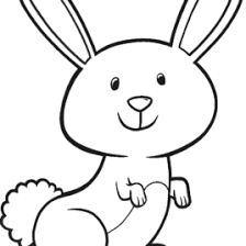 Small Picture Bunny Head Coloring Page Kids Drawing And Coloring Pages Marisa