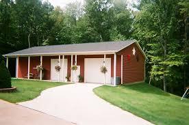 garage with porch brimfield