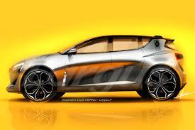 nouvelle renault 2018. Contemporary Nouvelle Illustration Future Renault Clio 5 2018 Vue De Profil Grise For Nouvelle Renault