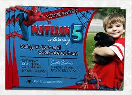 Spiderman Birthday Invitation Templates Free 71 Printable Birthday Invitation Templates Word Psd Ai