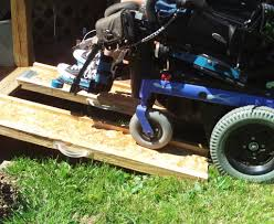 picture of portable wheelchair ramps