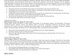 Security Officer Job Description Resume Gallery - Resume Format ...