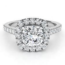 summer gia cushion cut diamond halo engagement ring
