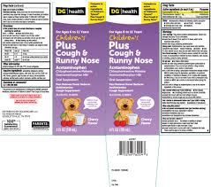 Ndc 55910 297 Childrens Plus Cough And Runny Nose