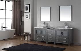 66 inch bathroom vanity. Virtu USA Dior 82 Double Bathroom Vanity Set In Zebra Grey 66 Inch