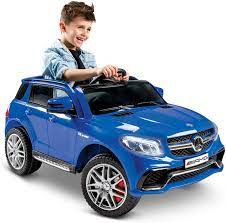 Mercedes benz is one of the best known car brands in the world. Amazon Com Huffy Mercedes Benz Kids Electric Battery Powered Ride On Car W Lights Sounds Mp3 Player Royal Blue 17548p Toys Games