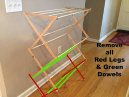 ... Expandable Wall Mounted Drying Rack Design: Fascinating Wall Mounted Drying  Rack Design ...