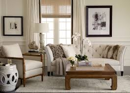 whatu0027s so horrible about ethan allen anyway cly modern living room ideas with white tufted sofa and cozy armchair plus soft rug area