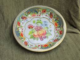 Daher Decorated Ware Tray Made In England Custom Daher Decorated Ware Tray Made In England Vintage Tray Daher