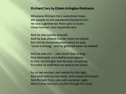 richard cory by edwin arlington robinson an analysis lesson  source