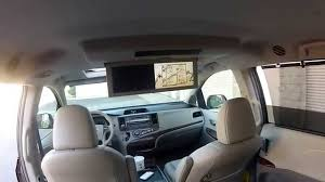 2nd Row Seat Features Tour 2011 Toyota Sienna XLE AWD - YouTube