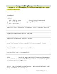 Employee Reprimand Forms Disciplinary Write Up Form Template Warning