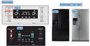samsung refrigerator display panels - demo mode