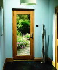 interior clear glass door. XL - DGOP1033-44 External Oak Dowelled Double Glazed Pattern 10 With Clear Glass Interior Door G