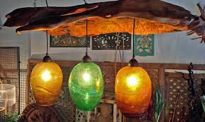 blown glass lighting fixtures. chandelier made from a piece of reclaimed teak and recycled hand blown glass bali lighting fixtures