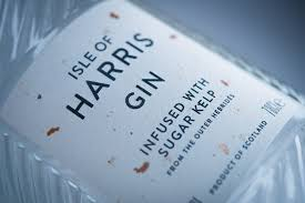 Isle Of Harris Distillers - Isle Of Harris Gin Label - Multi-Color ...