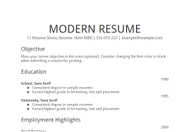 Download Sample Job Objectives For Resumes | Diplomatic-Regatta