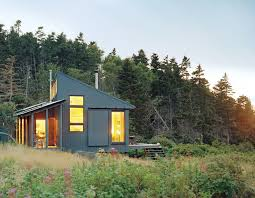 Tiny Off Grid Cabin in Maine is Completely Self Sustaining    Architecture