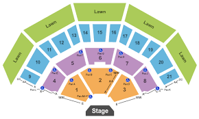 American Family Insurance Amphitheater Seating Chart Milwaukee