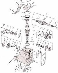 omc cobra outdrive parts drawings sterndrive tools upper gearcase exploded view