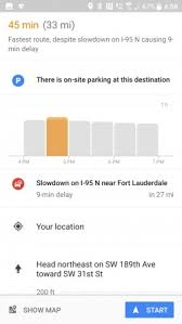 google maps now shows a travel time graph to your destination Google Maps Travel Time swipe up to see more info google maps travel time in seconds