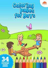 Filecoloring Pages For Boys Printable Coloring Book For Little